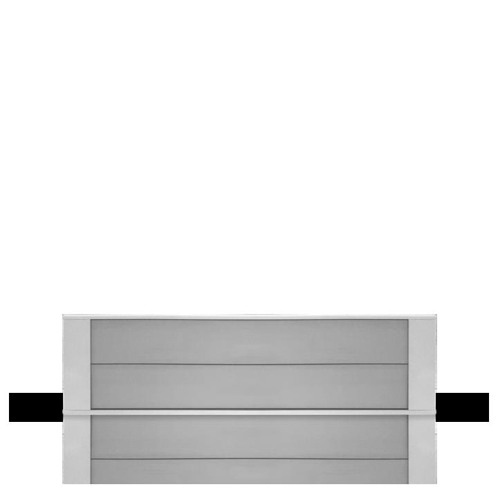 Cassette rayonnante moyenne température 1250W