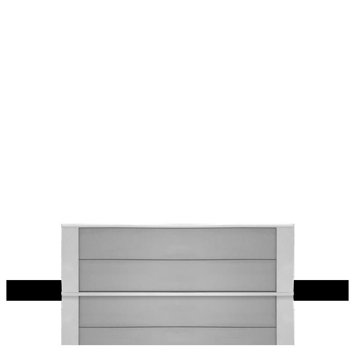 Cassette rayonnante moyenne température 1000W