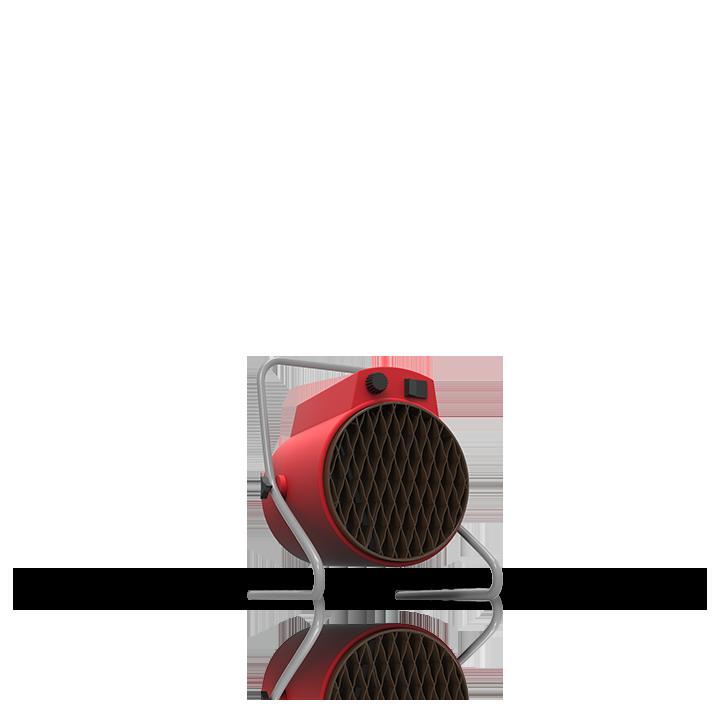 Chauffage Aérotherme Portables 3500/2000 W